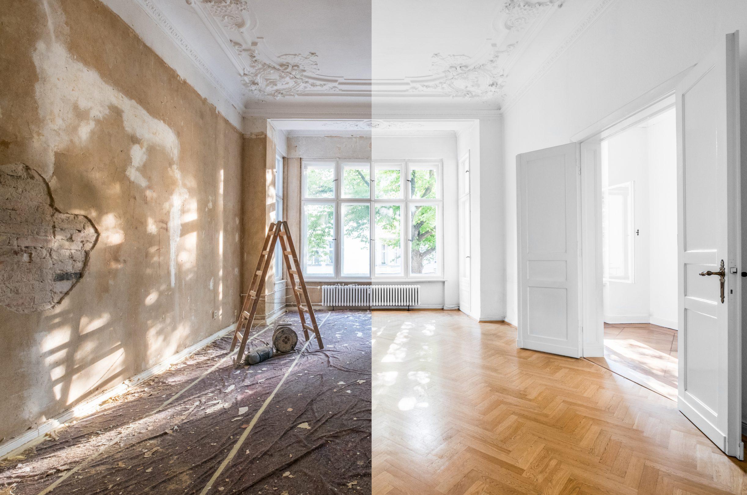 Kauf und Renovierung