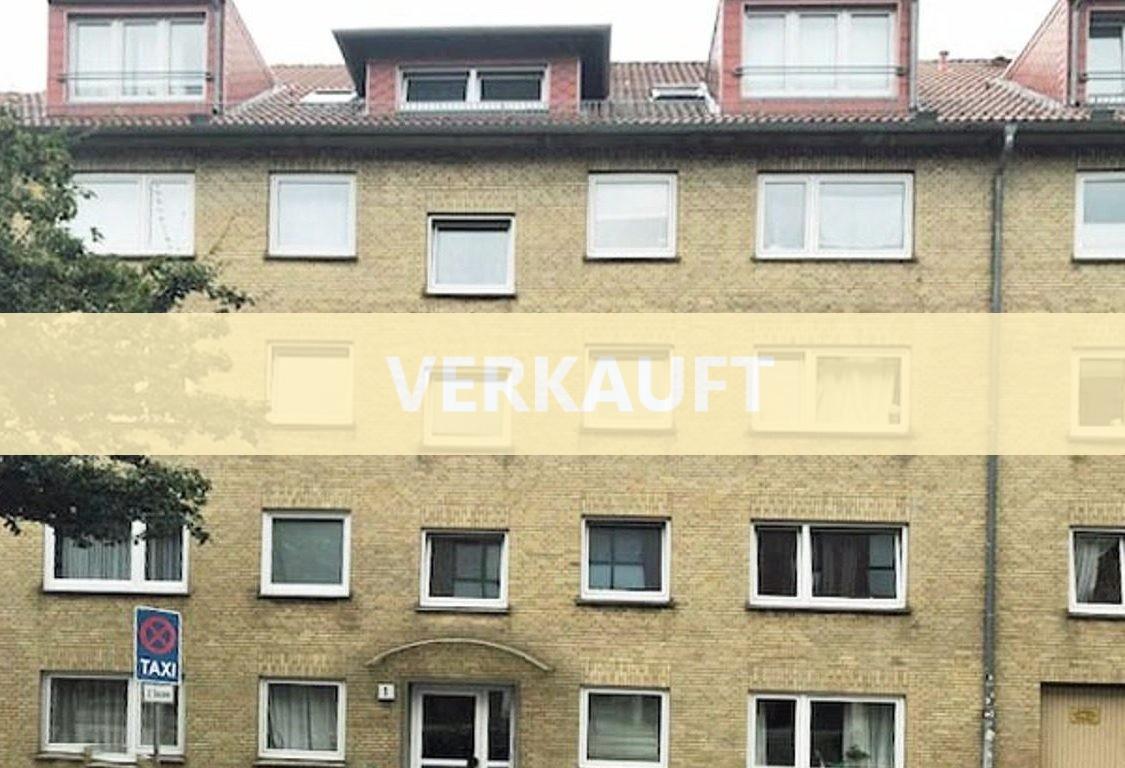 Toller Grundriss in Harburg: 2,5 Zimmer auf ca. 60 qm